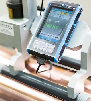 """Prozesskontrolle - Härteprüfgerät SD-H"""" - C01-0395 - Graphische Technik und Handel Heimann GmbH, Pferdekamp 9, 59075 Hamm"""